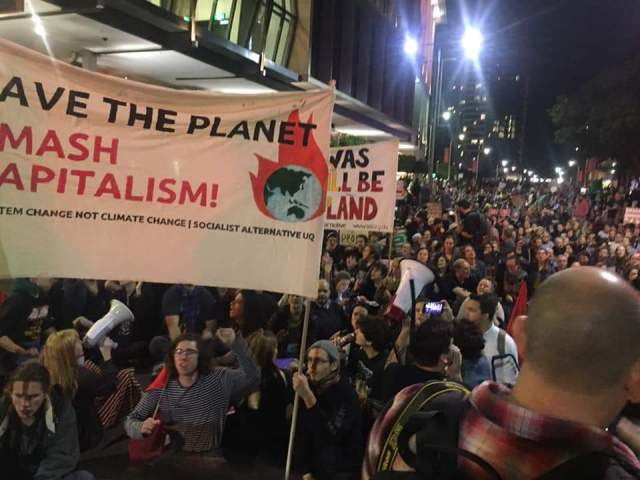 Socialist Alternative is behind the anti Adani protests