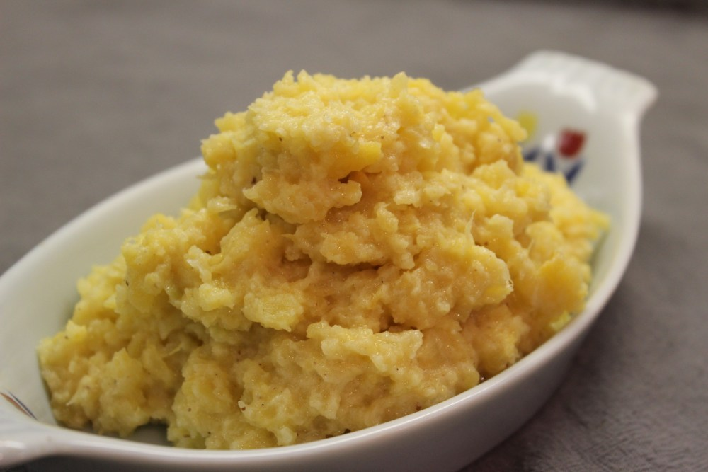 rutabaga mash low-FODMAP FODMAP AIP autoimmune protocol paleo mashed potato substitute cauliflower starchy vegetable