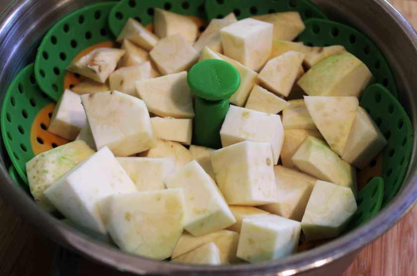 celeriac celery root mash mashed potato substitute AIP Paleo autoimmune protocol