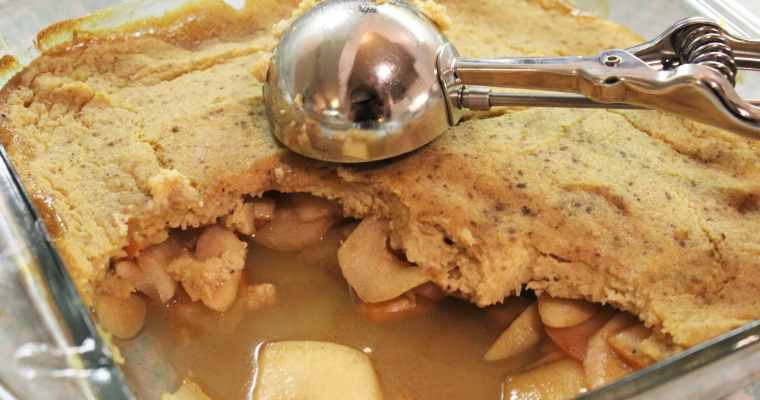 Apple, Pear & Plantain Cobbler – AIP, Paleo, Gluten Free