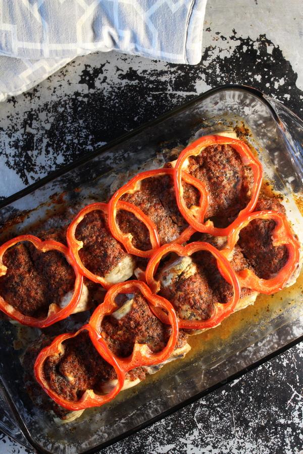 Italian Eggplant Rolls Whole 30 Paleo Keto