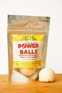 paleo angel power balls lemon