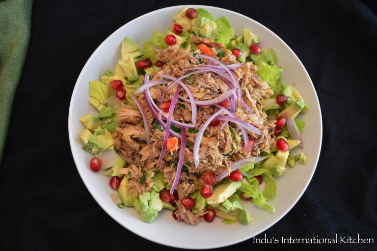 chicen avocado thai salad AIP