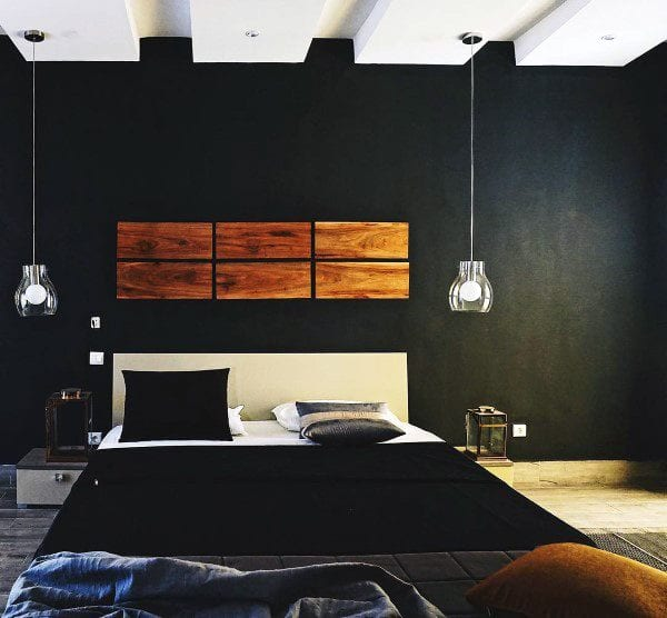 Bedroom designs in black ideas