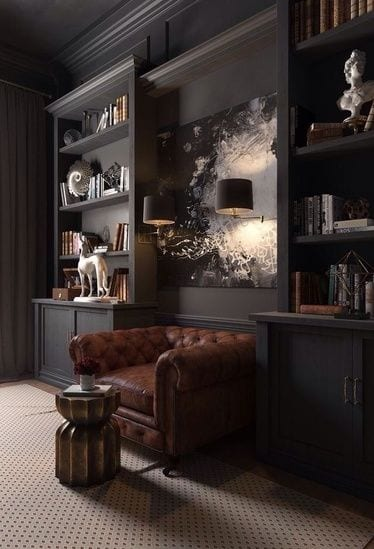 20 Marvelous And Exotic Black Living Room Ideas