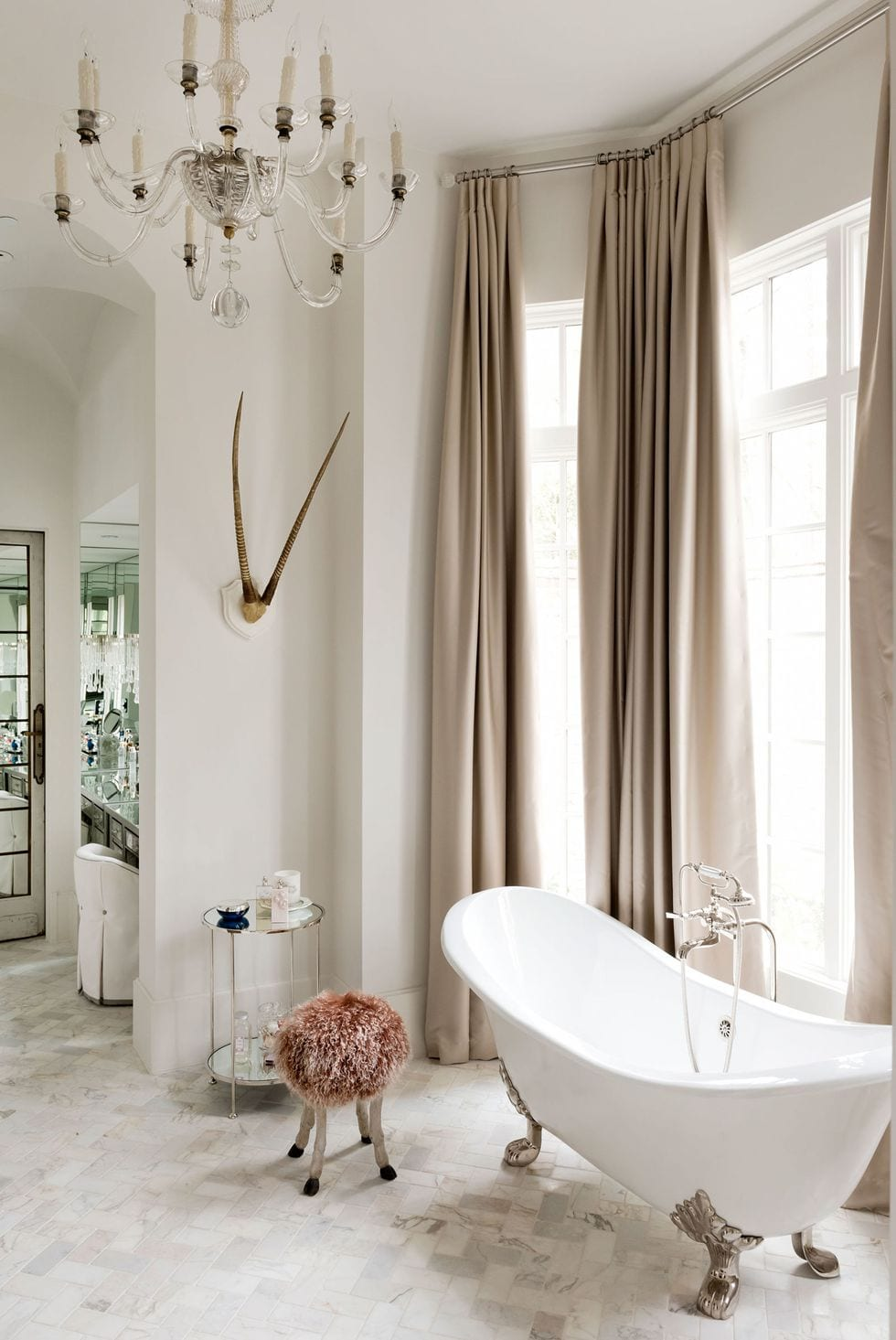 Boho style bathtub design ideas