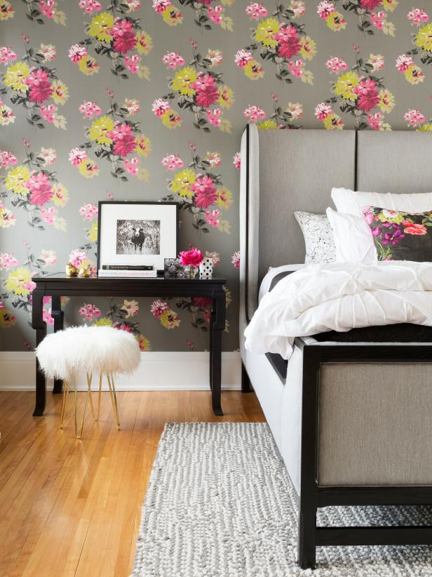 Colorful bedroom design ideas for women