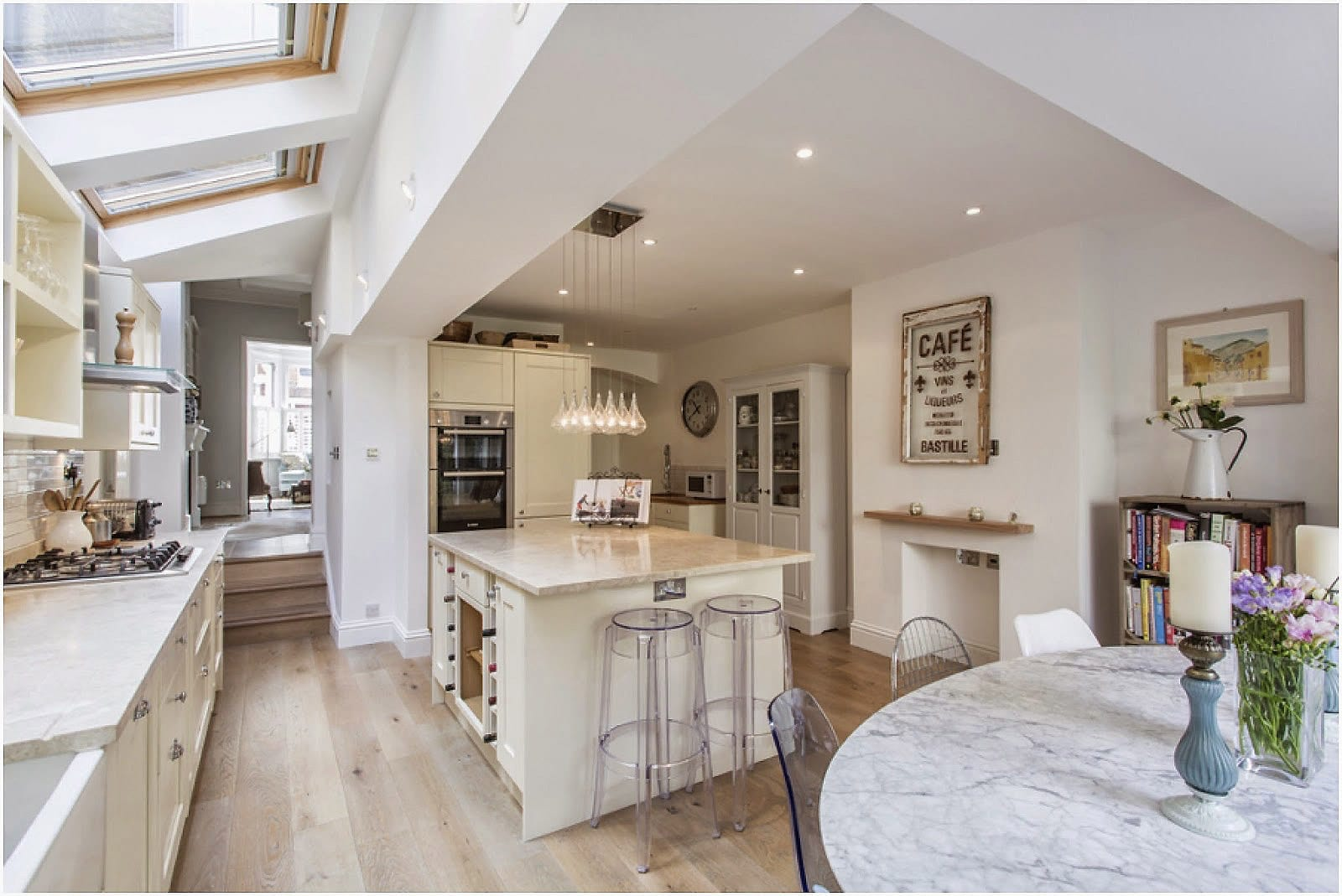 English cottage open kitchen design ideas