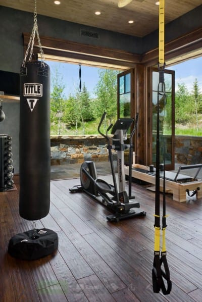 Expensive home gym design ideas
