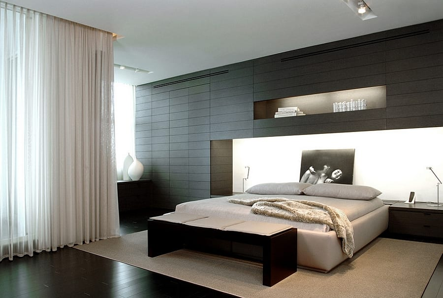 Fabulous black bedroom design ideas