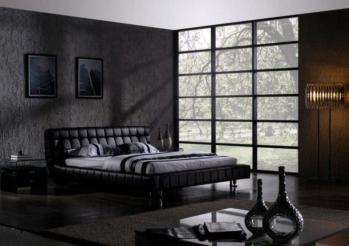 Lavish black bedroom decor ideas