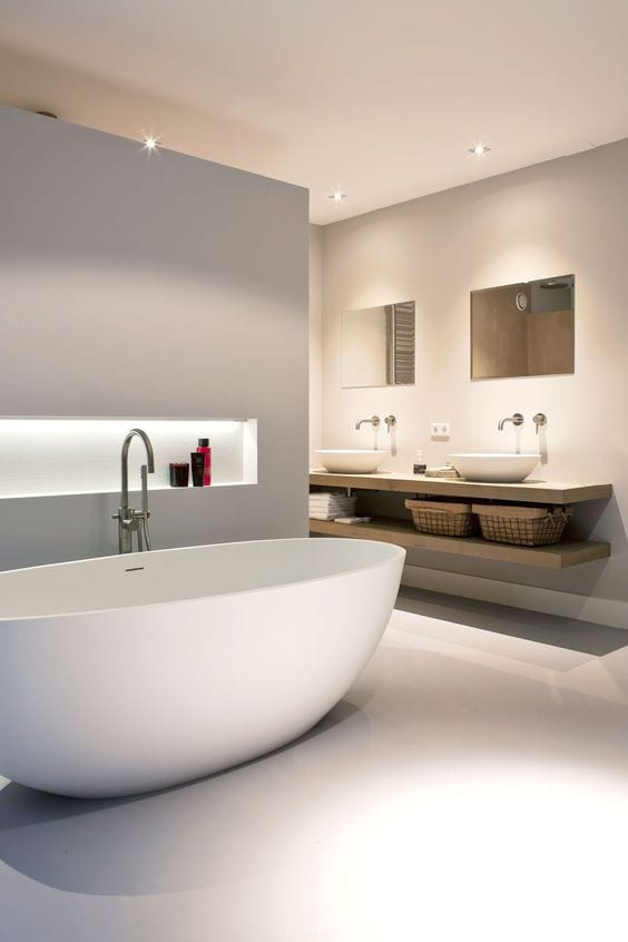 Luxurious bathtub design ideas