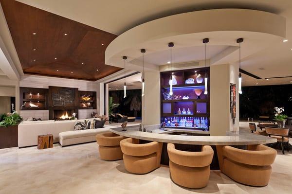 Modern home bar design ideas in 2019