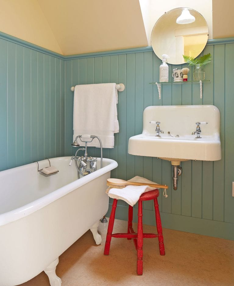 Rustic and Colorful bathroom ideas