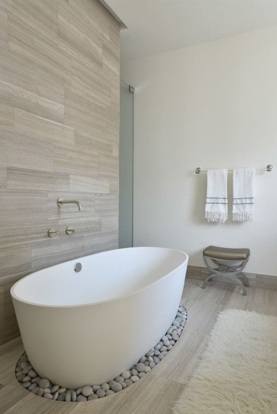 Sleek bathtub design ideas