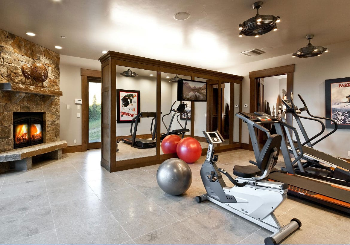 Stunning home gym design ideas