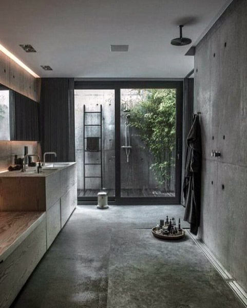 Traditional look shower design ideas