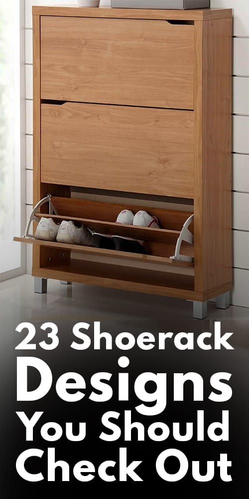23 Shoe rack Designs You Should Check Out.