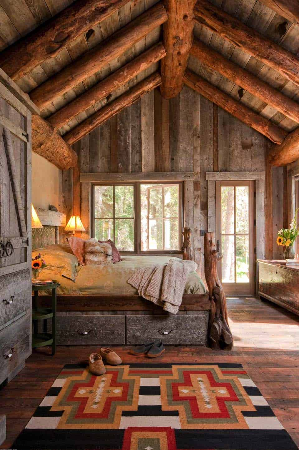 Amazing Cozy Rustic Bedroom Ideas