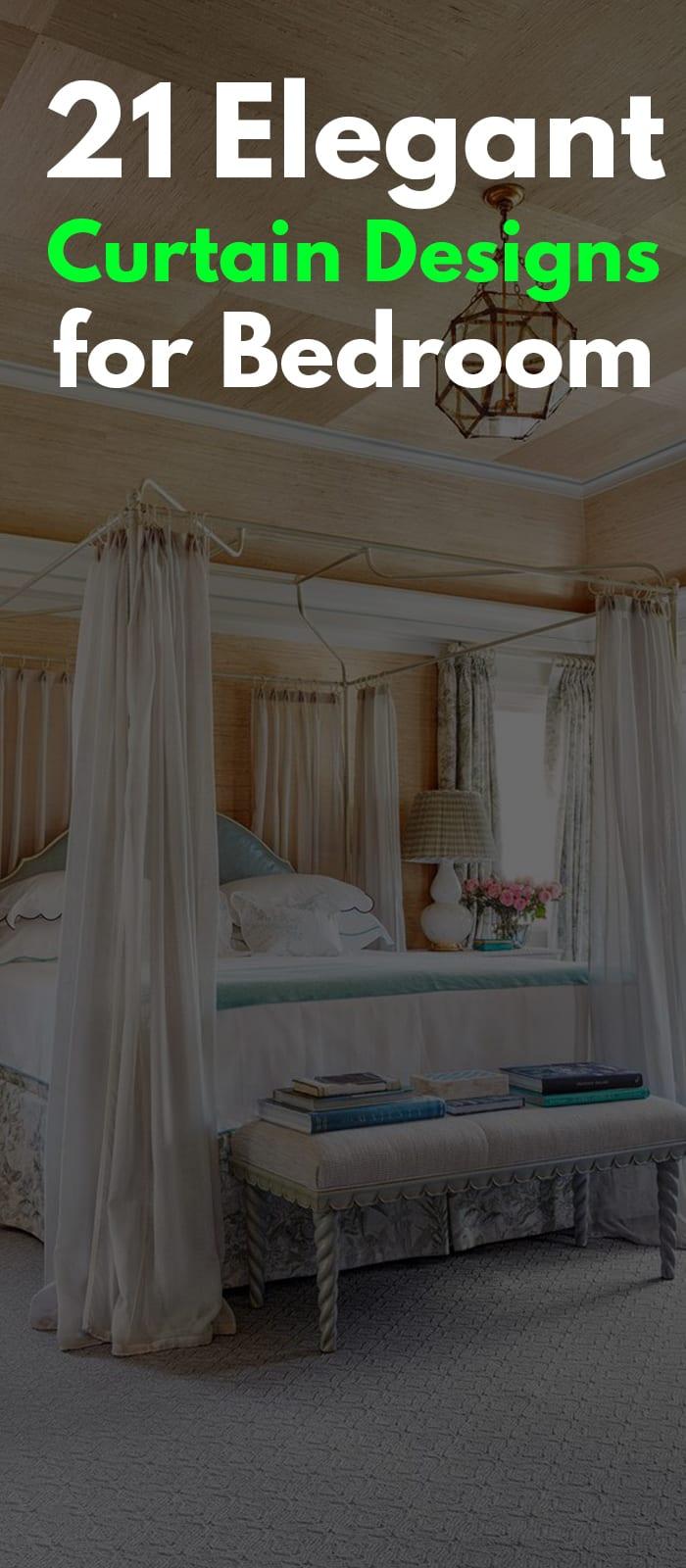 Beautiful bedroom curtain designs