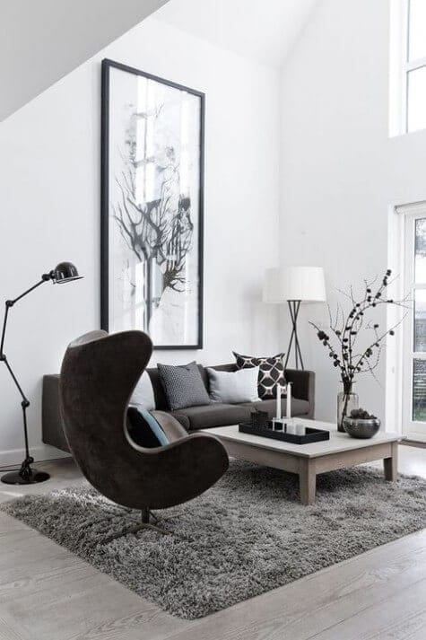 Beautiful Scandinavian living room decor ideas