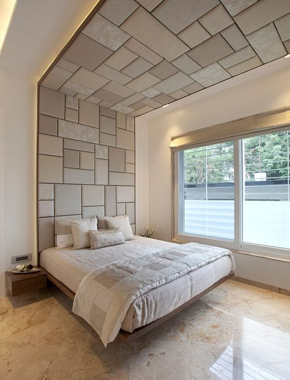 Ceiling design for bedroom photo