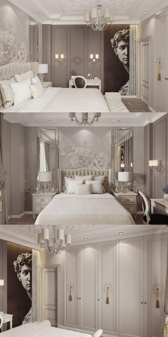 Ceiling design idea for bedroom