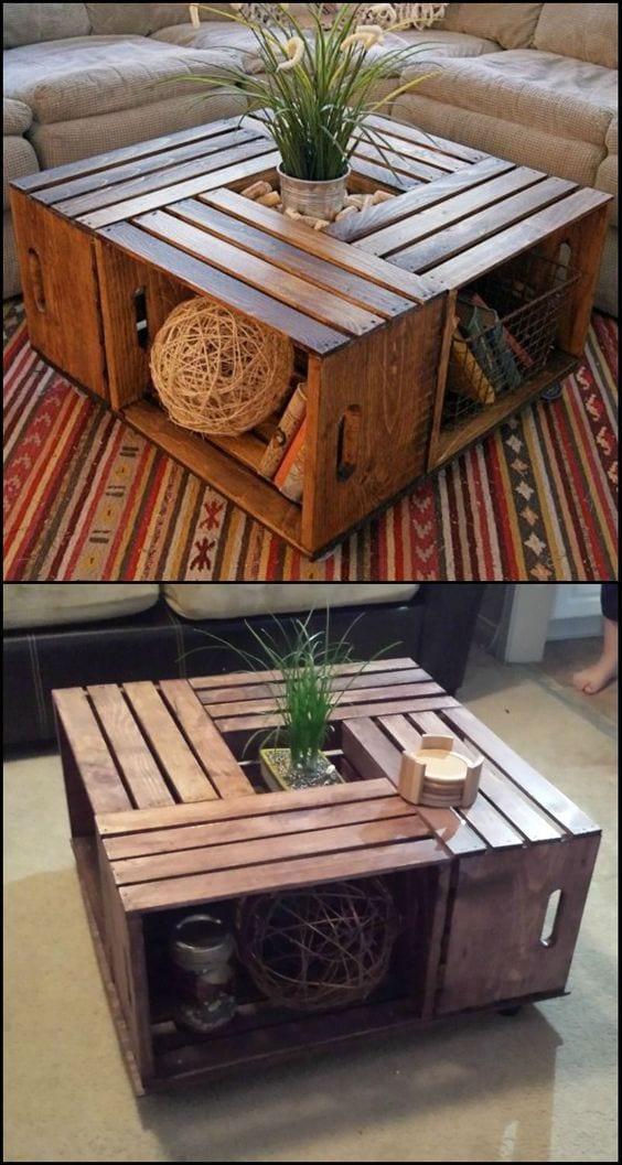 Center table DIY design ideas
