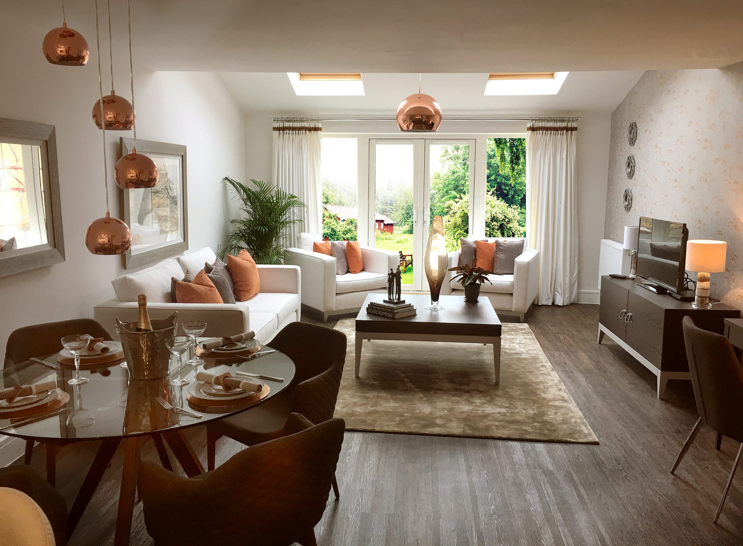 Circular dining room decor ideas