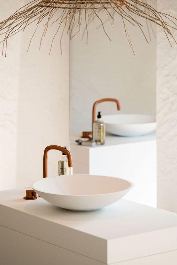 Circular washbasin design ideas