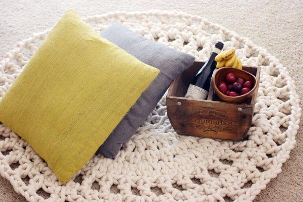 DIY Rope Rug design ideas