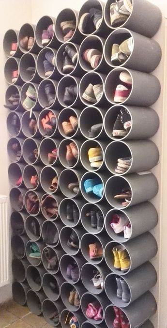Fabulous DIY Ideas to Organize Shoes