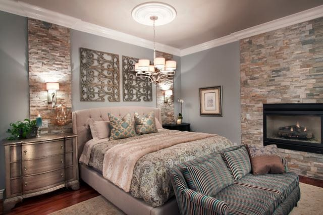Luxurious wall decor ideas for bedroom