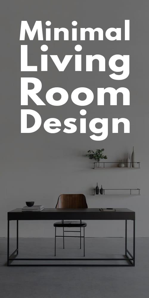 Minimal Living Room Designs!