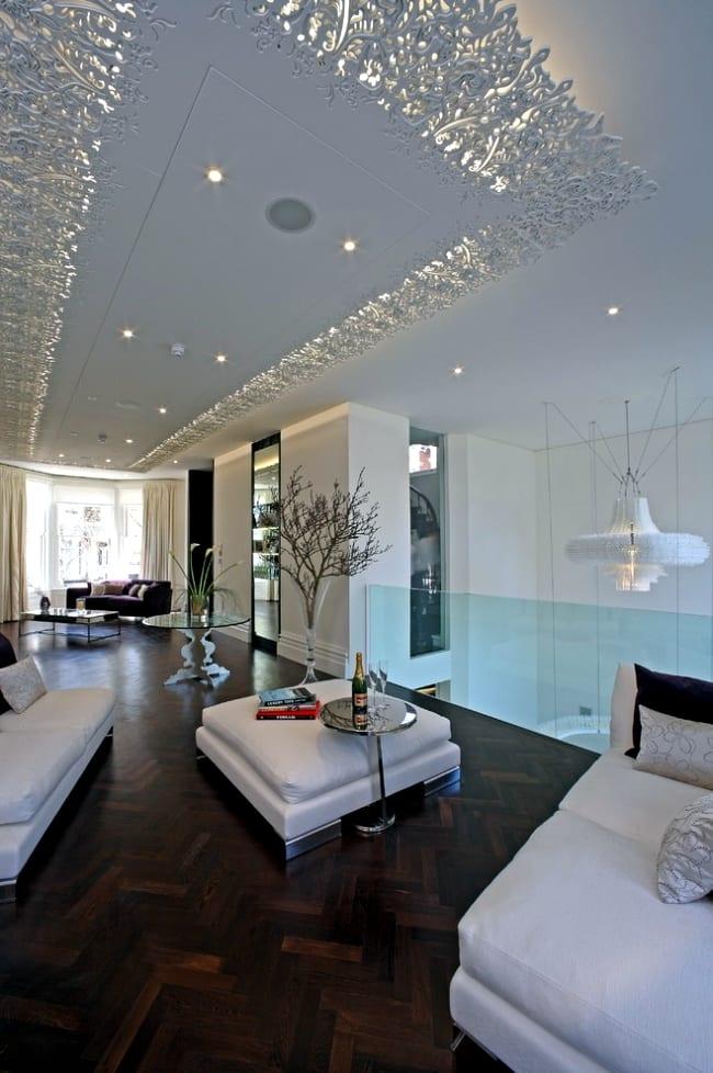 Modern ceiling designs for living room