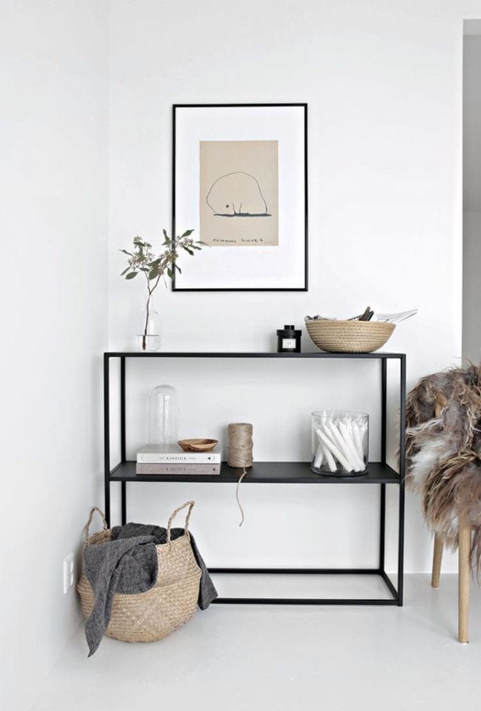 Natural Materials Scandinavian living room design ideas