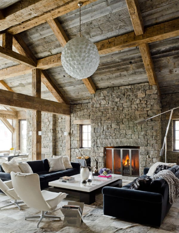 Rustic living room design ideas in 2019