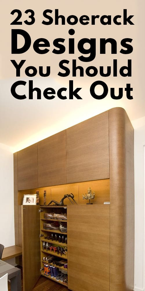 Shoe rack Designs You Should Check Out