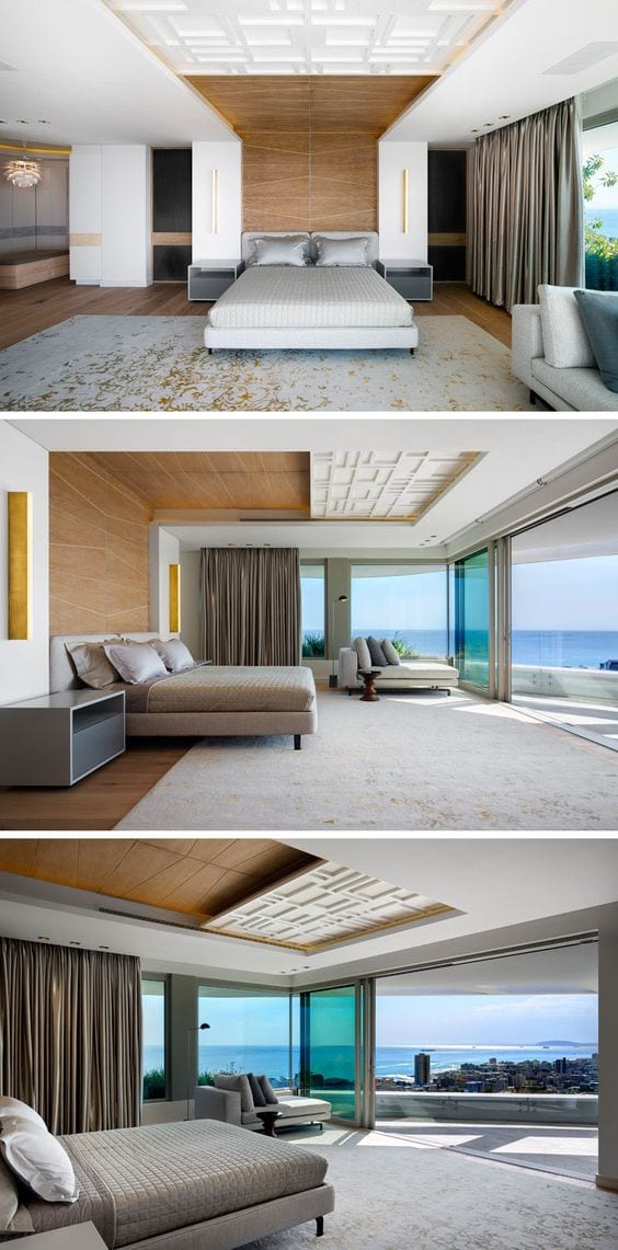 Simple and beautiful ceiling design for bedroom