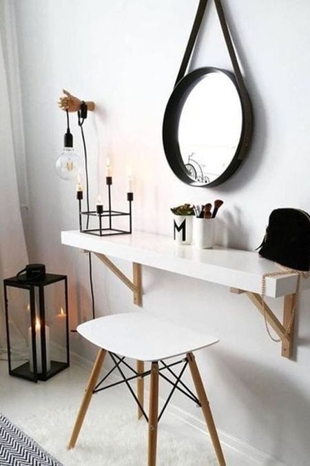Small dressing table ideas