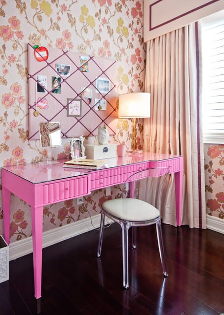 Study room ideas for girls
