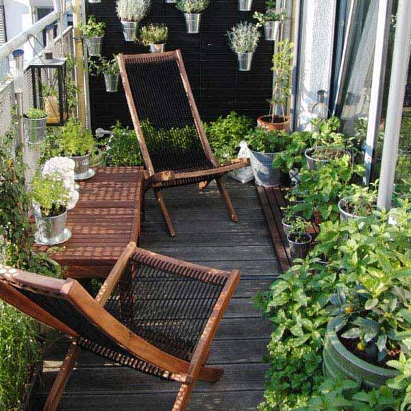 Tiny Balcony Garden Ideas
