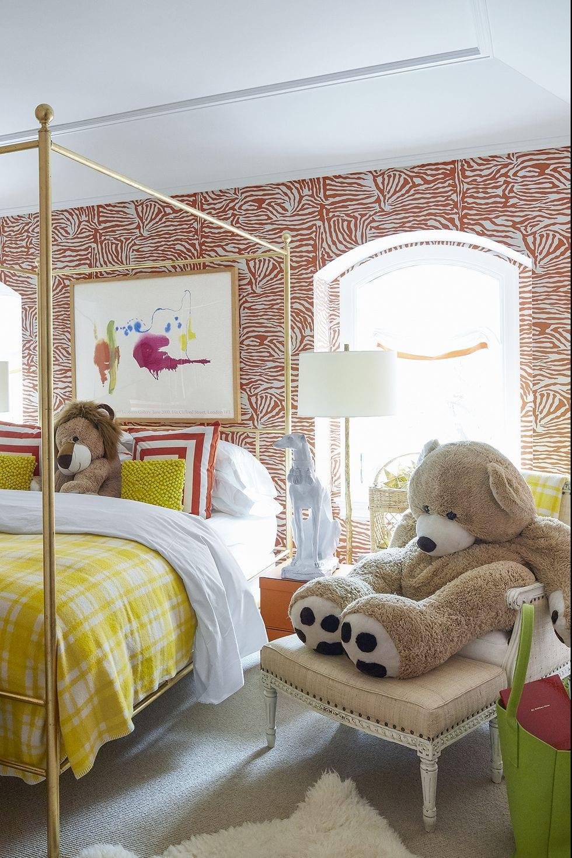Zoo Bedroom For Kids Design Ideas