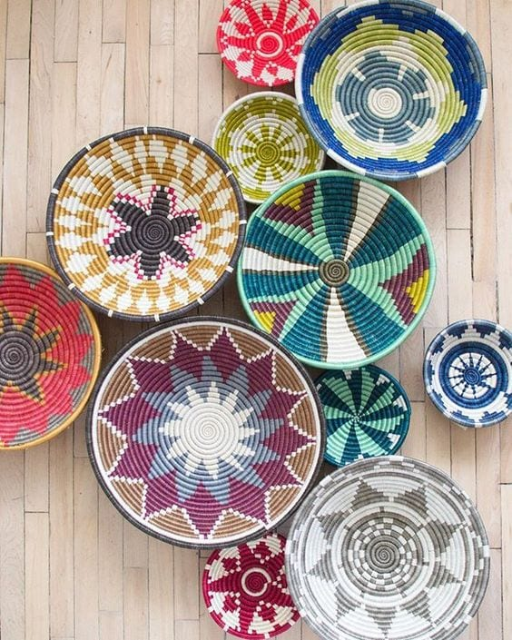 Beautify Your Home With Recycling Old Baskets