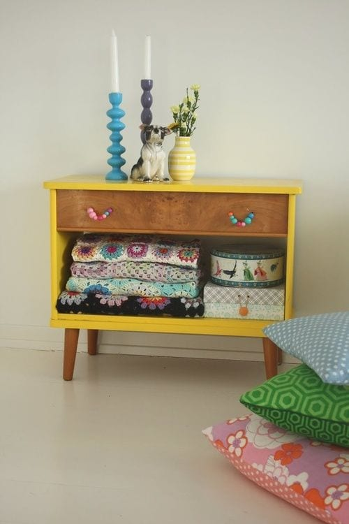 Cool ways to use old drawers