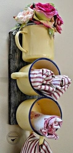 Reuse Old Cups and Mugs
