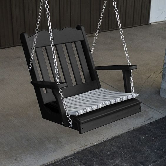 Turn that Old Chair into a Swing
