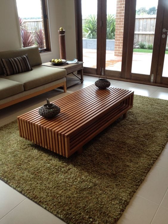 Wooden Centre table ideas for living room