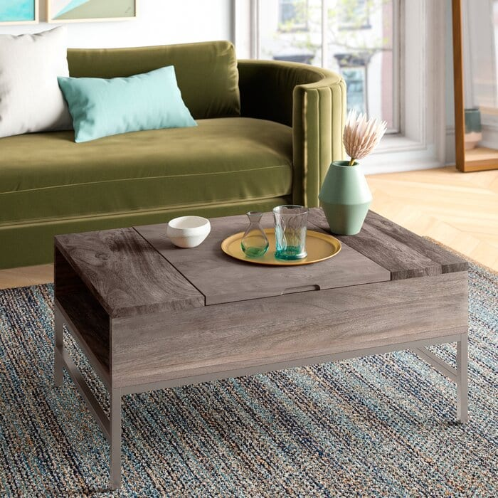 Wooden Coffee Table Ideas with Storage