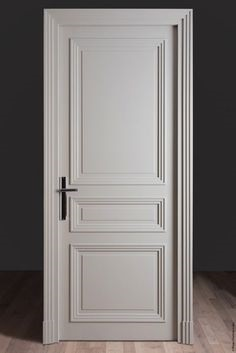 12. Gorgeous paneled door which will never go off trend